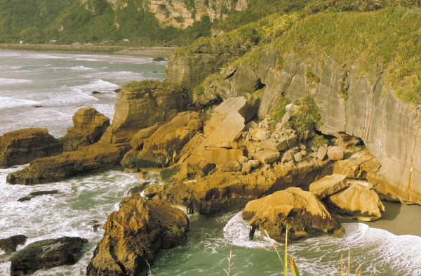 Dramatic coastline of Punakaiki