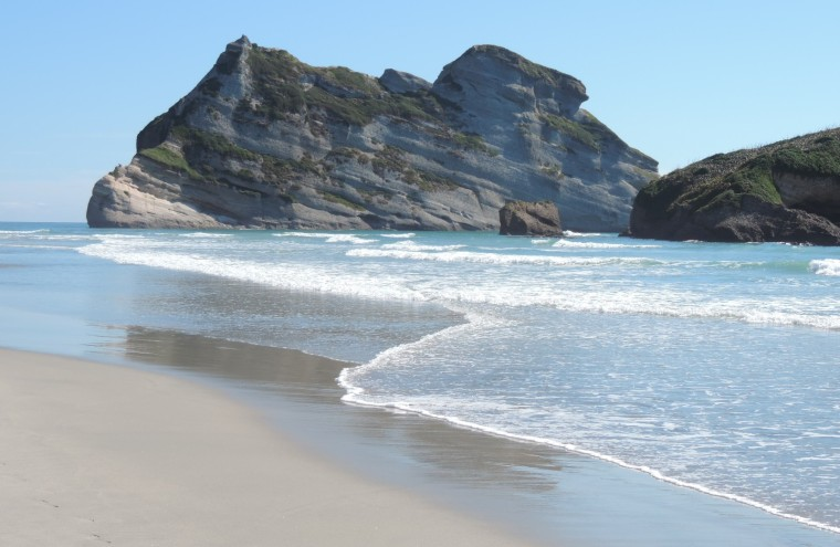 Wharariki Beach - remote, wild and refreshingly tourist free