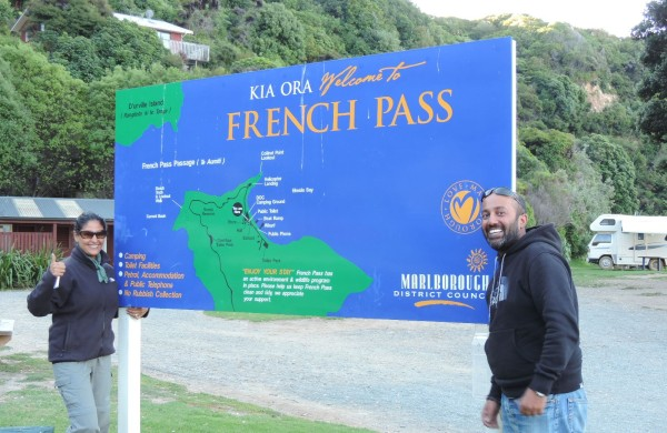 Before we realised how long the drive to the French Pass was!