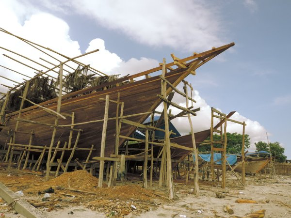 The Bugis are renowned boat builders