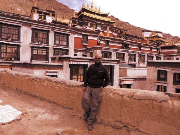 Asad at Tashilunpo Monastery